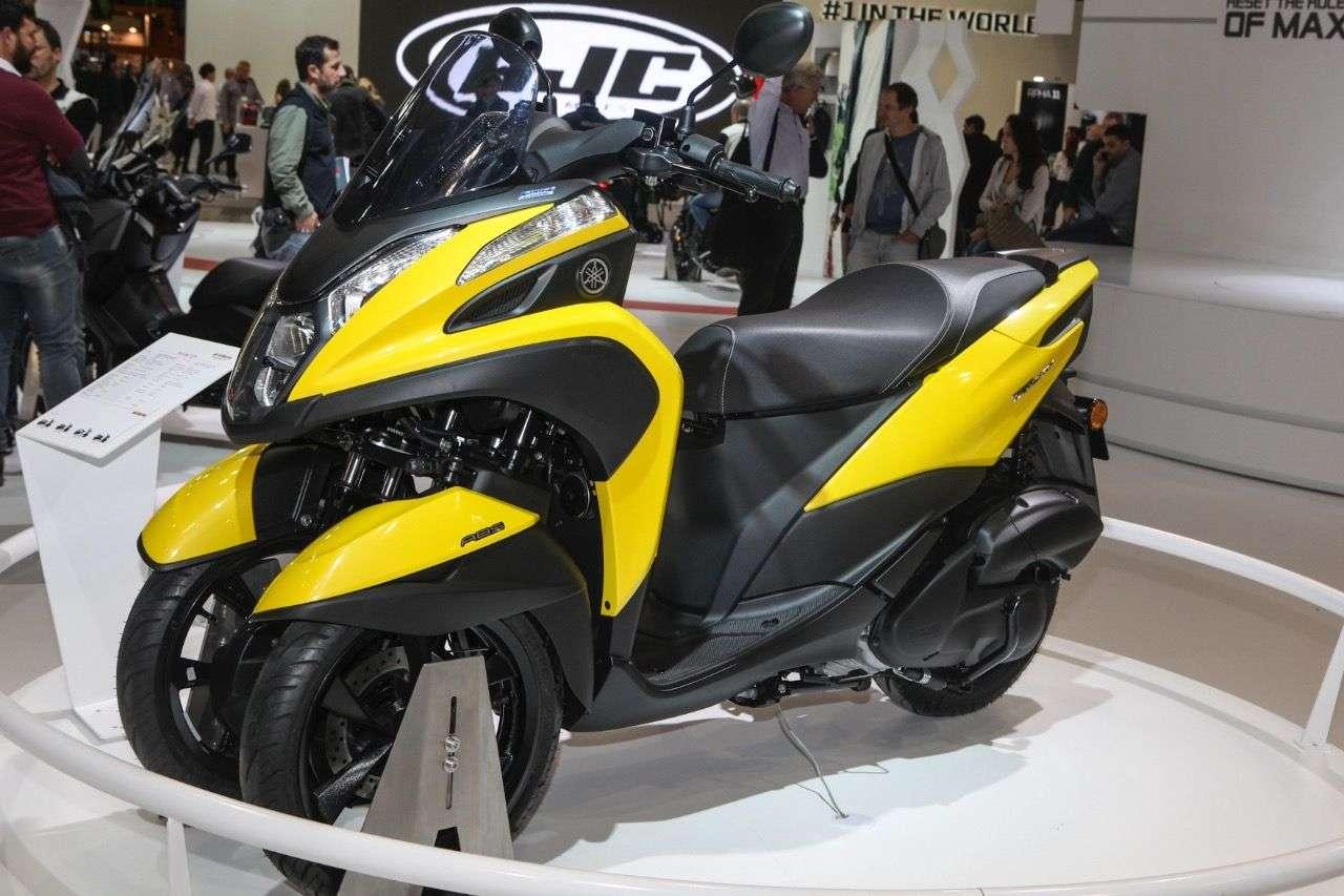 Yamaha Tricity.