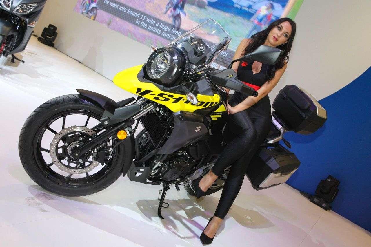 Suzuki V-Strom 250: Eigenwilliges Design, aber offenbar höchst funktional.