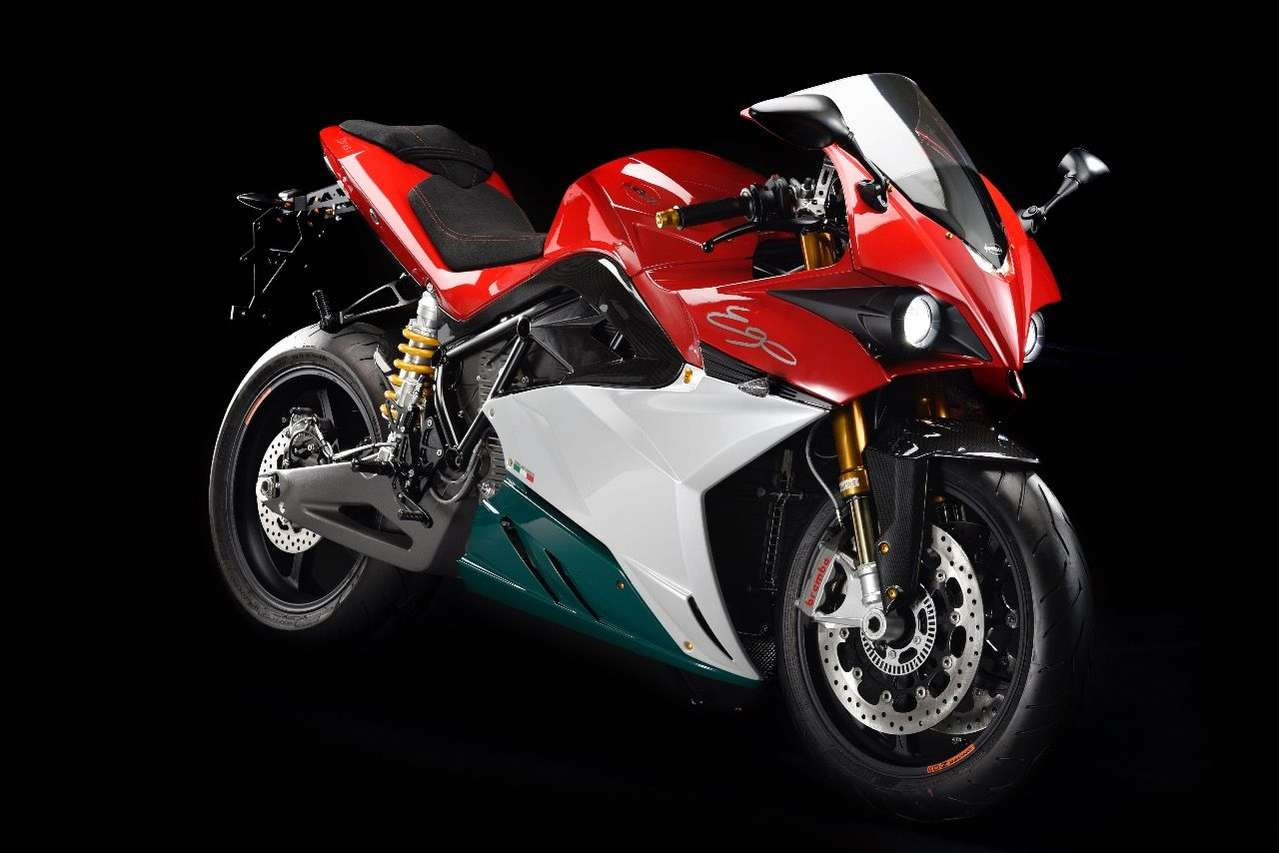 Das Superbike Energica Ego in der neuen Italia-Lackierung. (Foto: Gianluca Muratori)