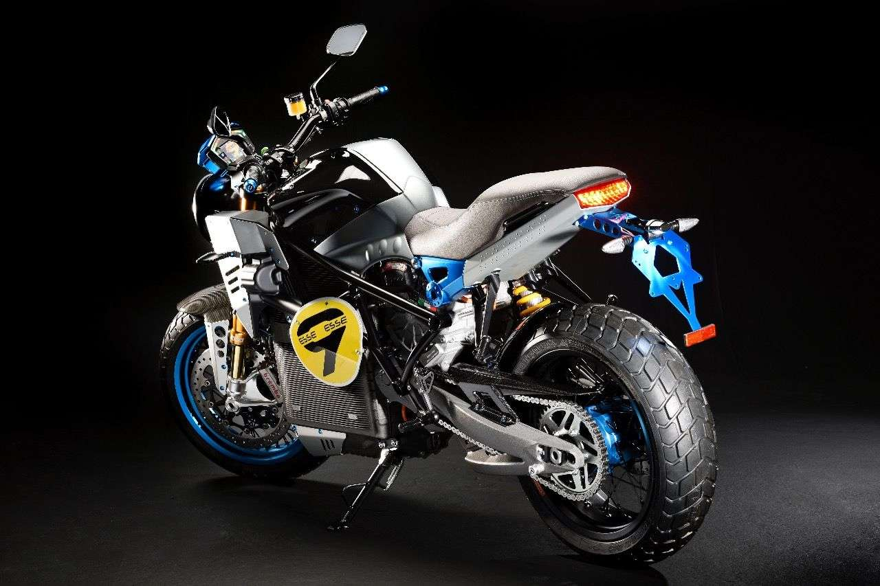 Energica EsseEsse9: Retro-Streetfighter-Elektrobike. (Foto: Gianluca Muratori)