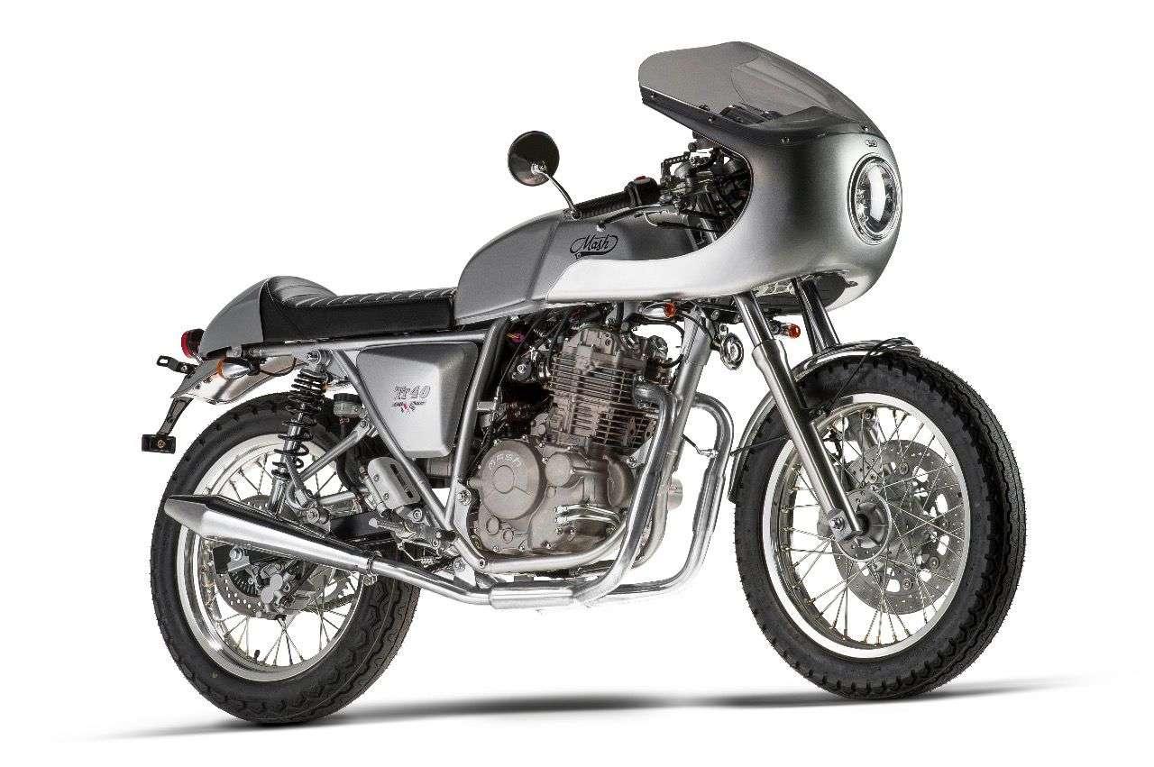 Mash TT 40 –der Café Racer ist das neue Topmodell der französischen Marke.
