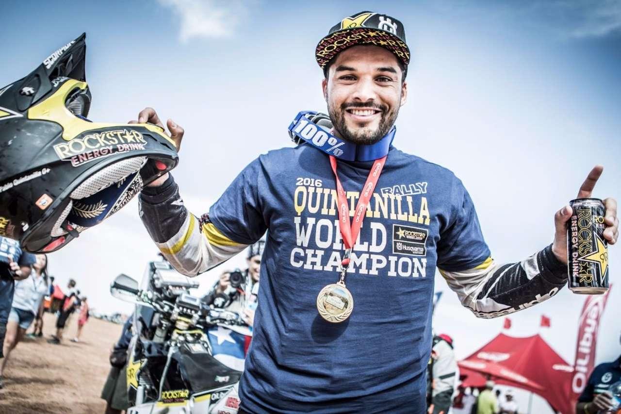Rallye-Raid-Weltmeister 2016 - Pablo Quintanilla