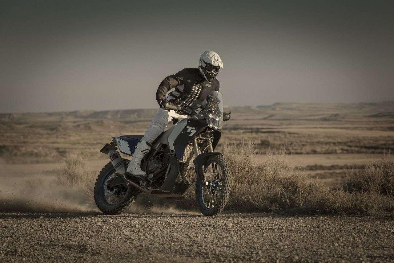 Das T7 Concept-Bike in Action