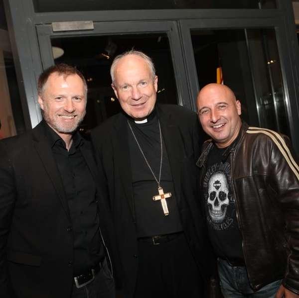Moderator Alex List mit Kardinal Schönborn und Christoph Fälbl (v.l.)