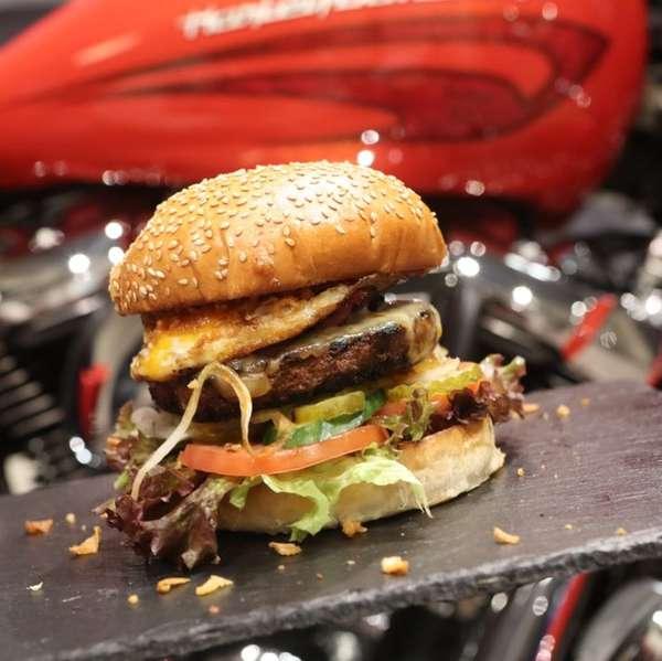 So muss Burger: Frisch aus Fischer's American Restaurant