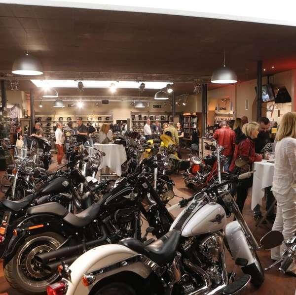 4000 Quadratmeter – ein Paradies für Harley-Freaks