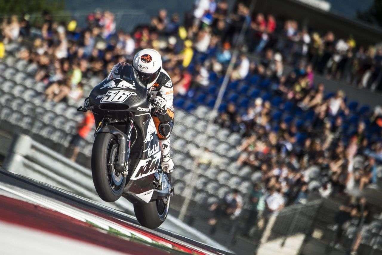 Mika Kallio auf der KTM RC16 in Spielberg.
