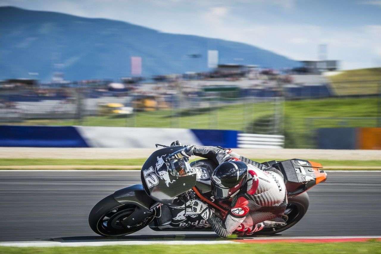 Tom Lüthi bei den offiziellen MotoGP-Tests.