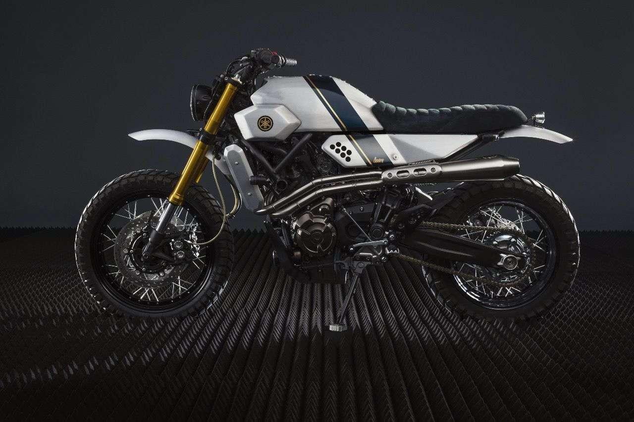 Yamaha Yard Built XSR700 by Bunker Customs