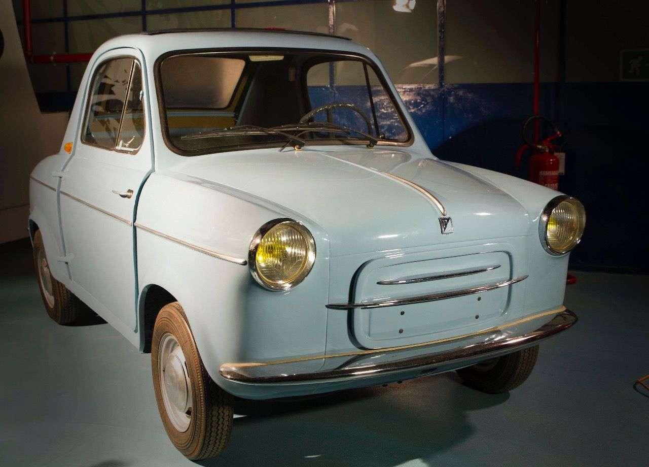Sackgasse: Das Vespa-Auto aus den späten Fünfzigern