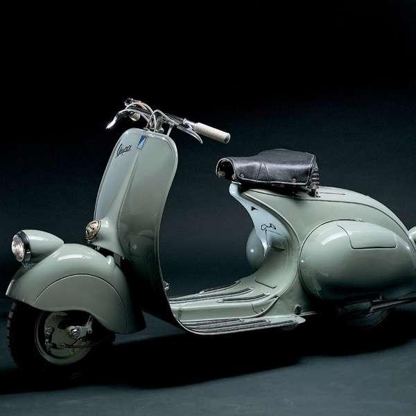 Die erste Vespa aus dem Jahr 1946 –mit 98 ccm