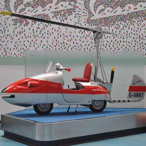 Speed-Vespa im Piaggio Museum