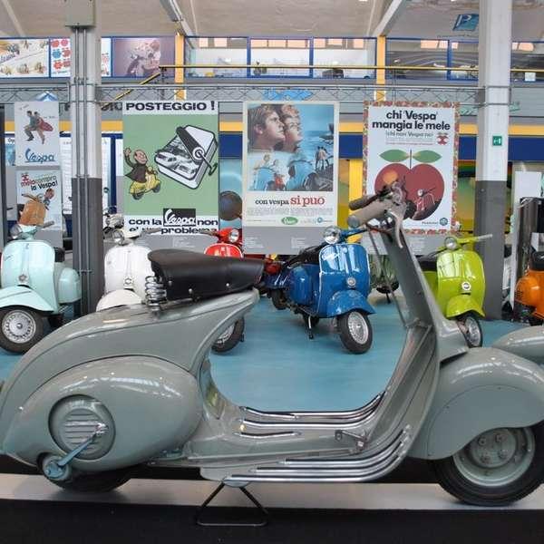 Immer einen Besuch wert: Piaggio Museum