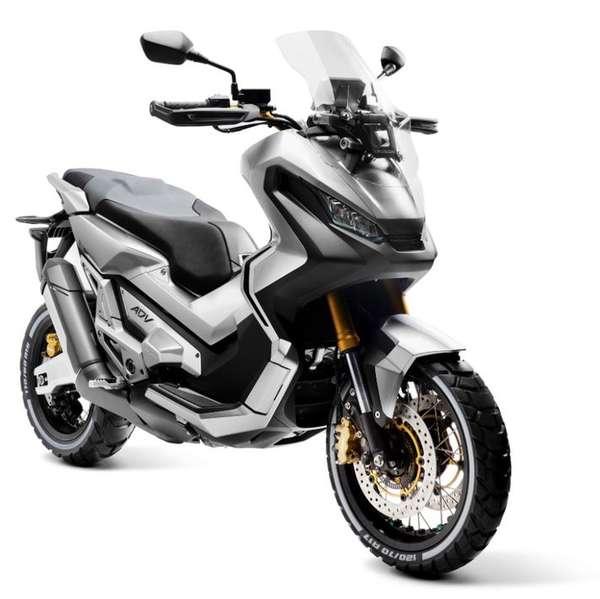 Crossover aus Enduro und Scooter: Honda City Adventure Concept – vielleicht schon 2017 in Serie?