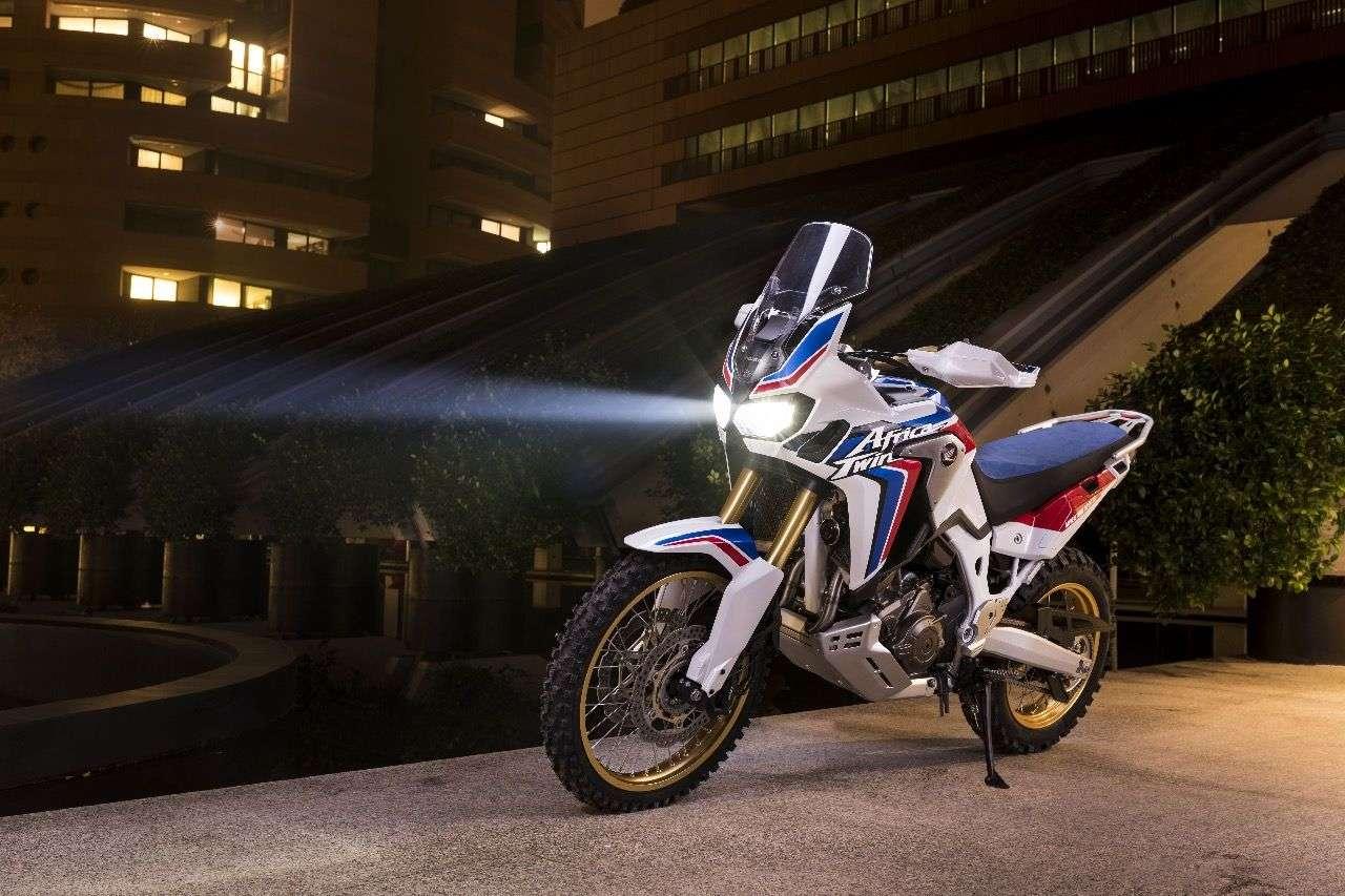 Härter, klarer, puristischer: Hondas Africa Twin als Adventure Sports Concept