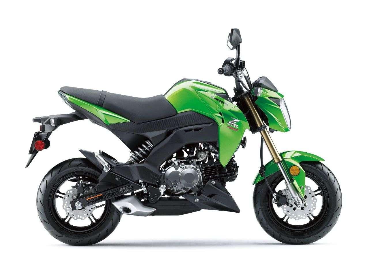 Kawasakis Antwort auf die Honda MSX125: Z125 Pro.