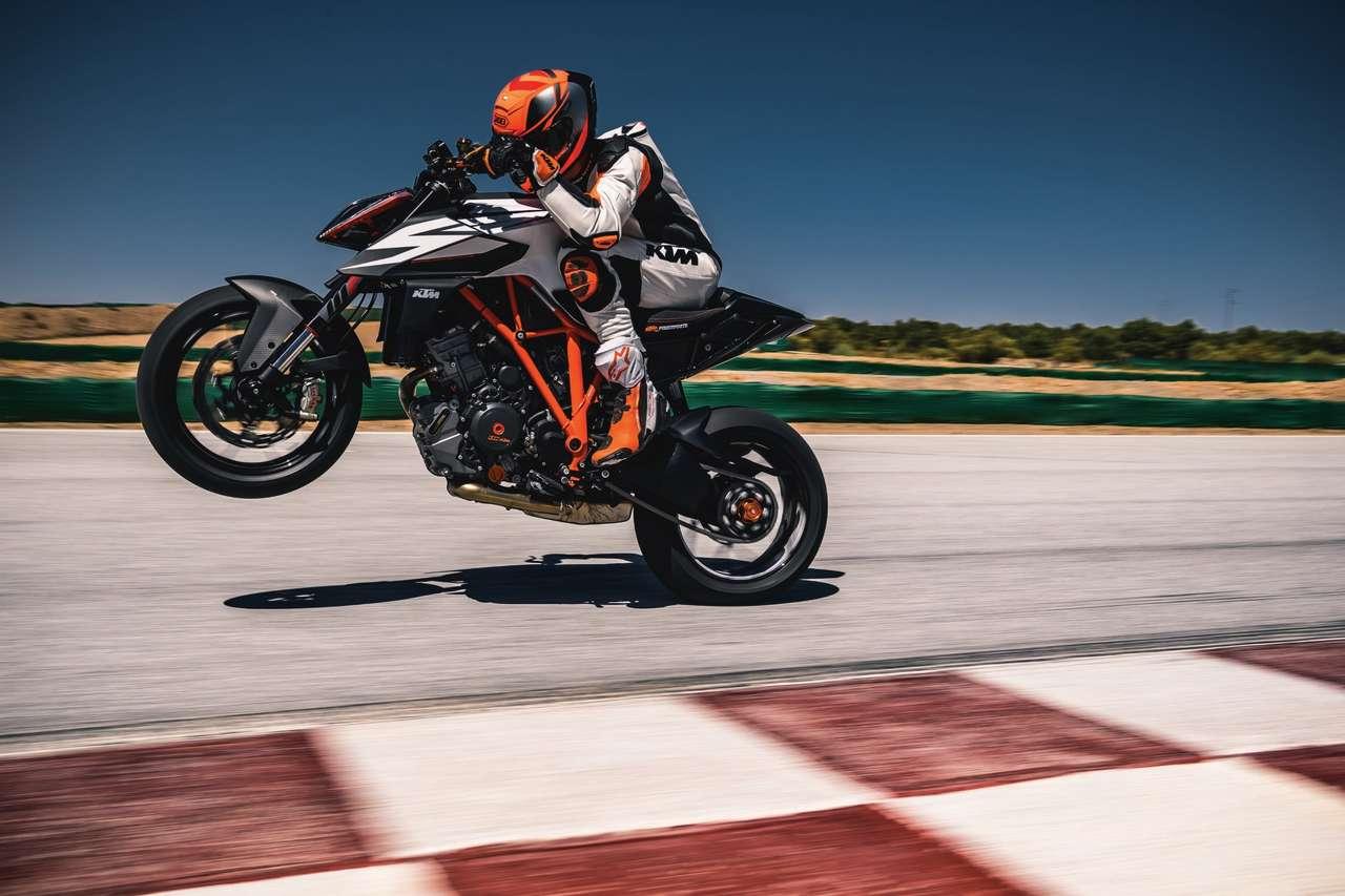 Motorräder über 125 Kubik stiegen 2018 stark –um 8,8% im Jahresvergleich. Die Branche hat Grund zum Jubeln! Foto © R.Schedl