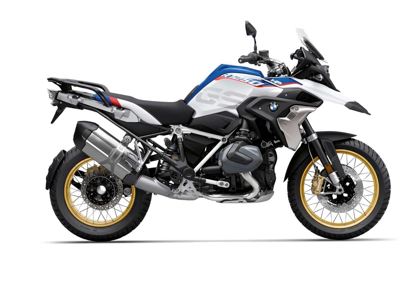 BMW R 1250 GS: Konnte sich durch den Modellwechsel und ein damit verbundenes starkes Finish im Dezember wieder den Titel des beliebtesten Motorrads in Österreich sichern.