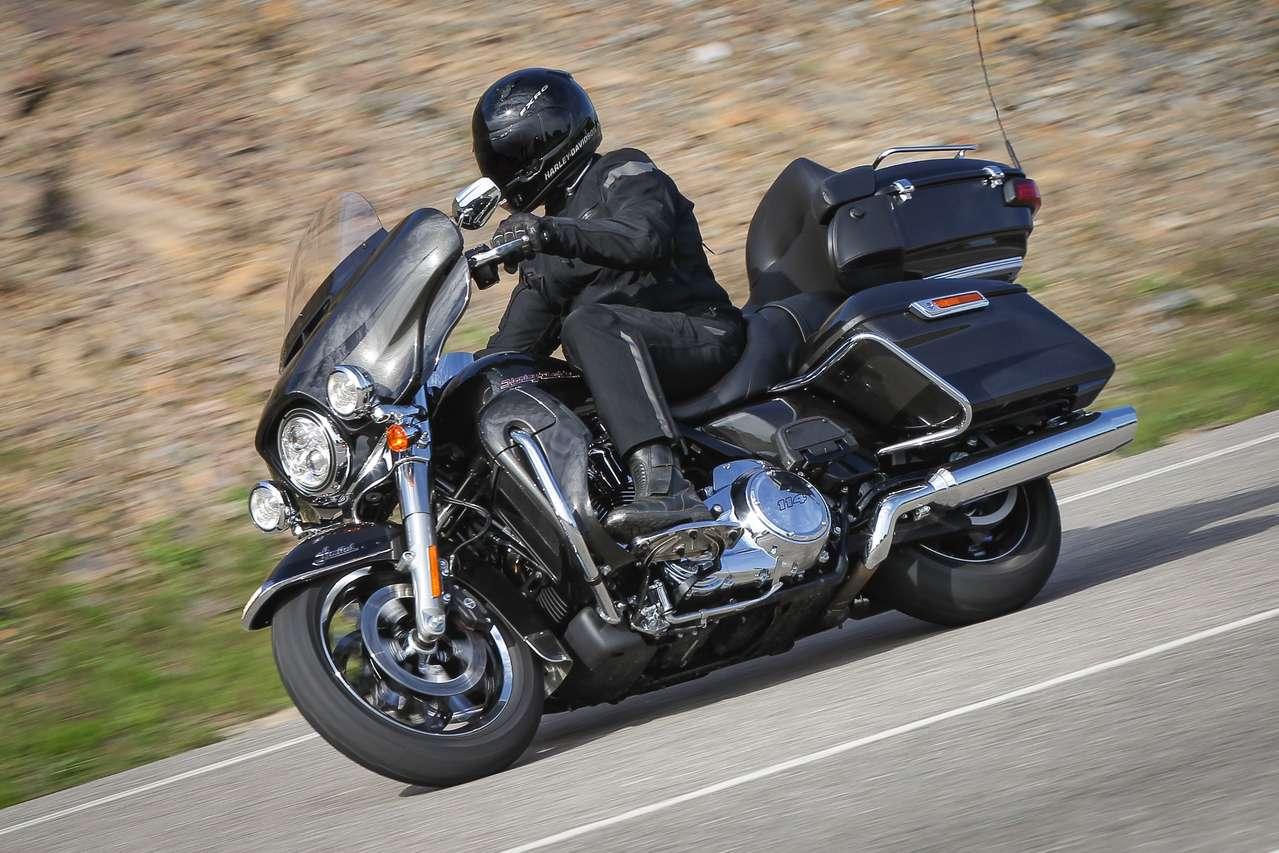Harley Ultra Limited des Jahrgangs 2019 – stärker und vernetzter.