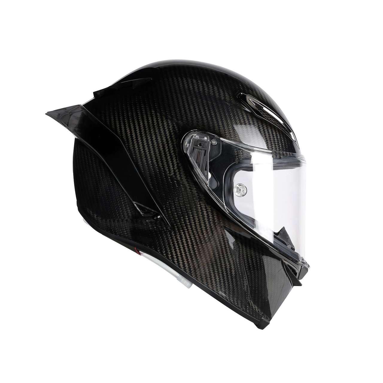 Der neue AGV Pista GP R – ein Racinghelm für den Doctor und alle Fans. Kennzeichen sind die ausgefeilte Aerodynamik, das geringe Gewicht, das gute Sichtfeld und die hohen Sicherheitsstandards.