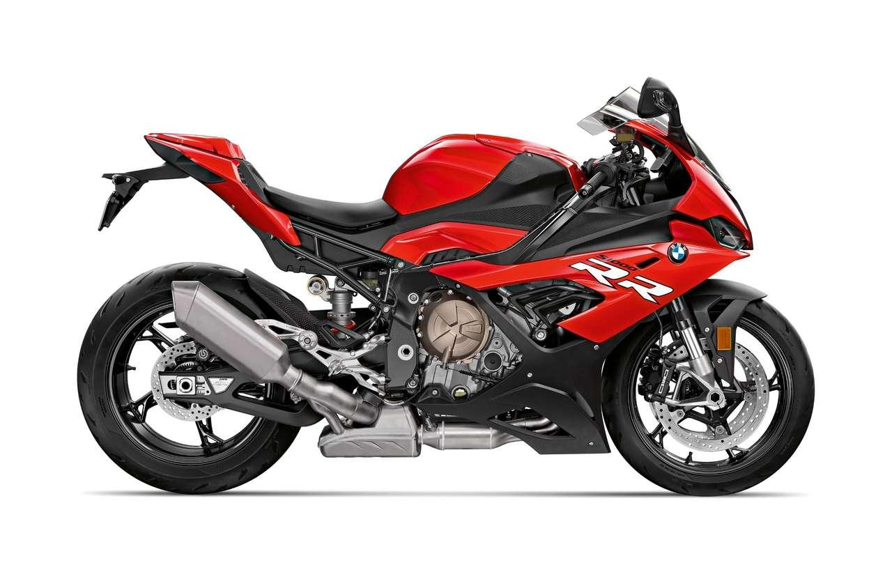 Ein rotes Motorrad ist zwar nie zu verachten...