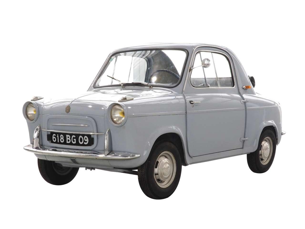 Vespa 400 aus dem Jahr 1960