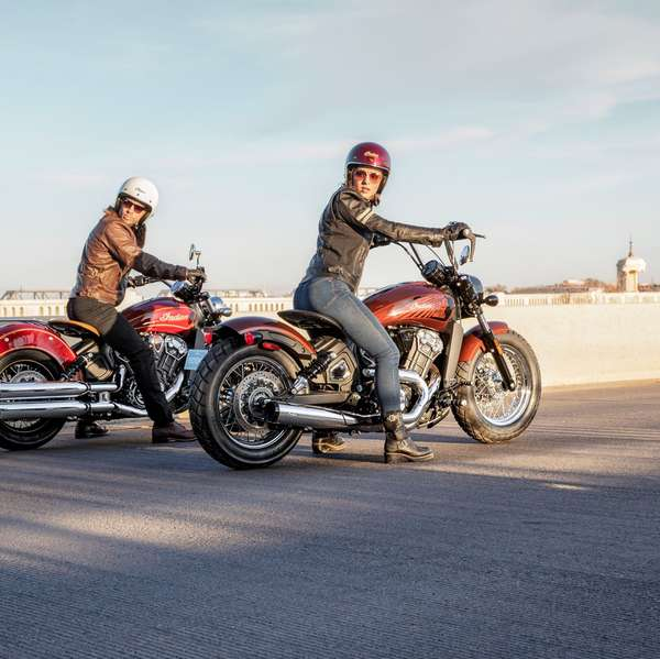 Limited Edition Scout 100th Anniversary und Scout Bobber Twenty