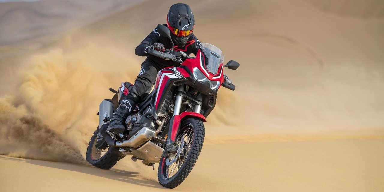 Honda Africa Twin 2020: Der Fokus liegt nun im Gelände, wie man sieht ...