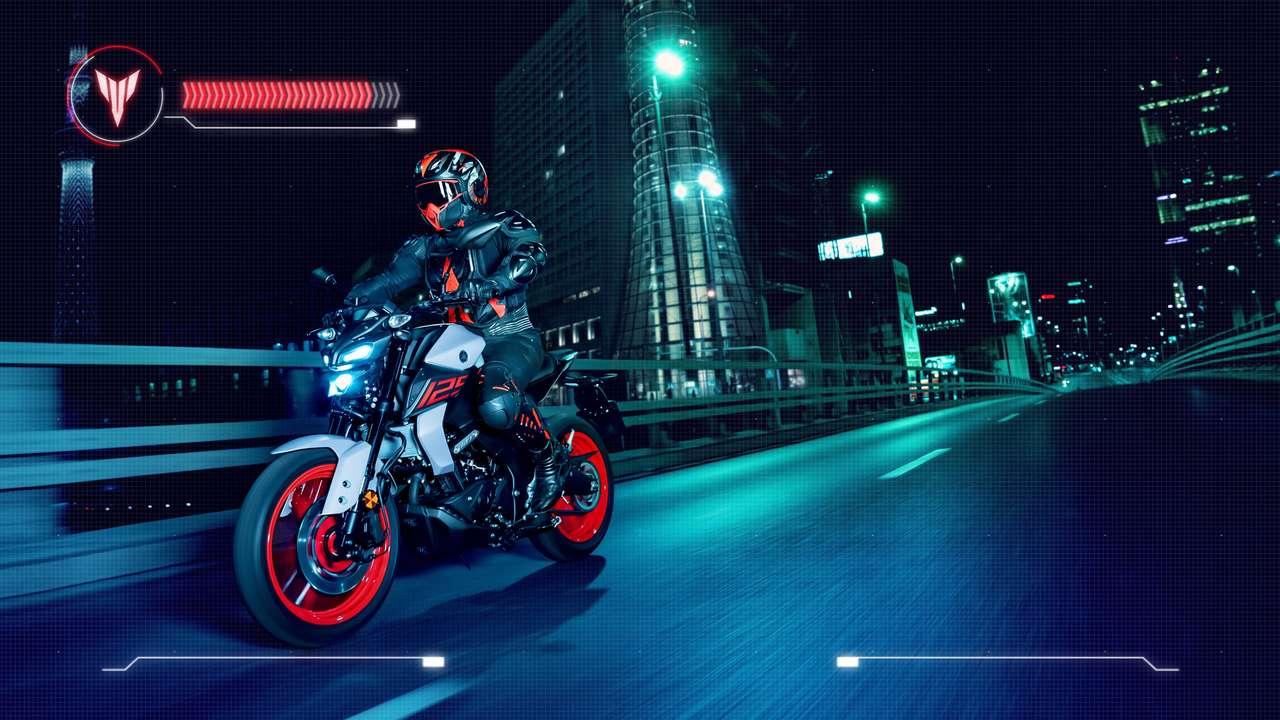 ... Yamaha MT-125 des Jahrgangs 2020.
