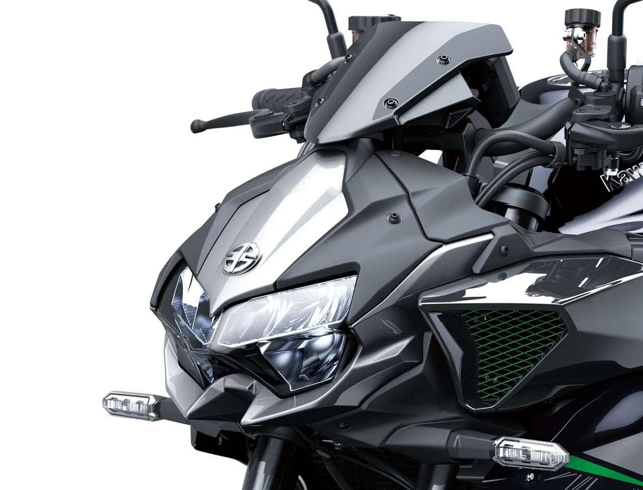 Die Lichtmaske erinnert sowohl an Z- als auch H2-Modelle.