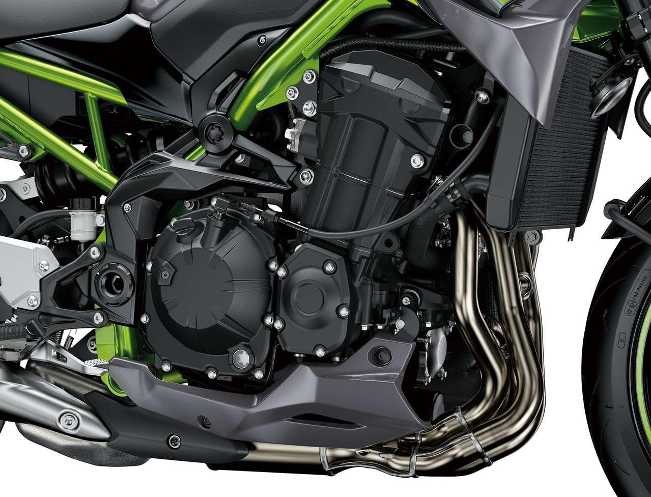 Weniger Emissionen und besseren Sound verspricht man für den Reihenvierzylinder