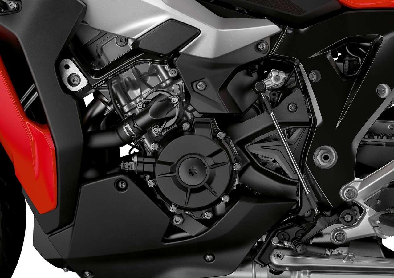 Der neue XR-Reihenvierzylinder basiert auf der aktuellen RR-Generation