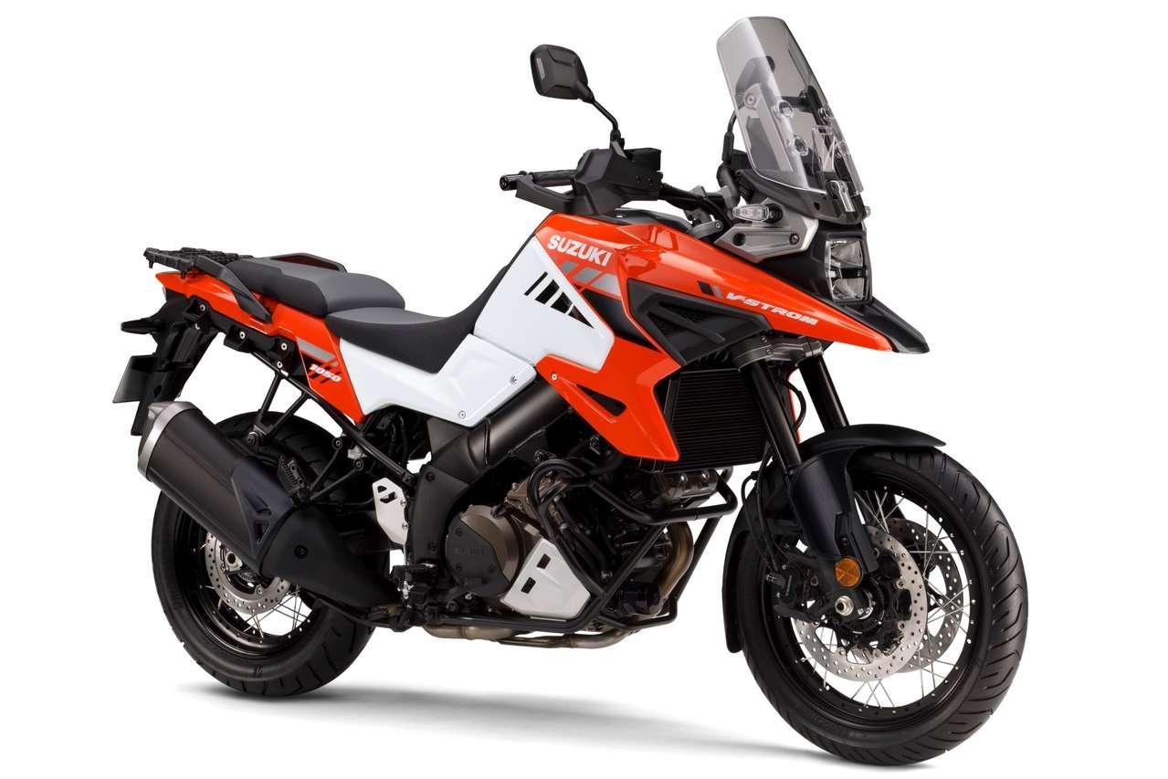 V-Strom 1050 XT 2020 (Pearl Brilliant White / Glass Blaze Orange)