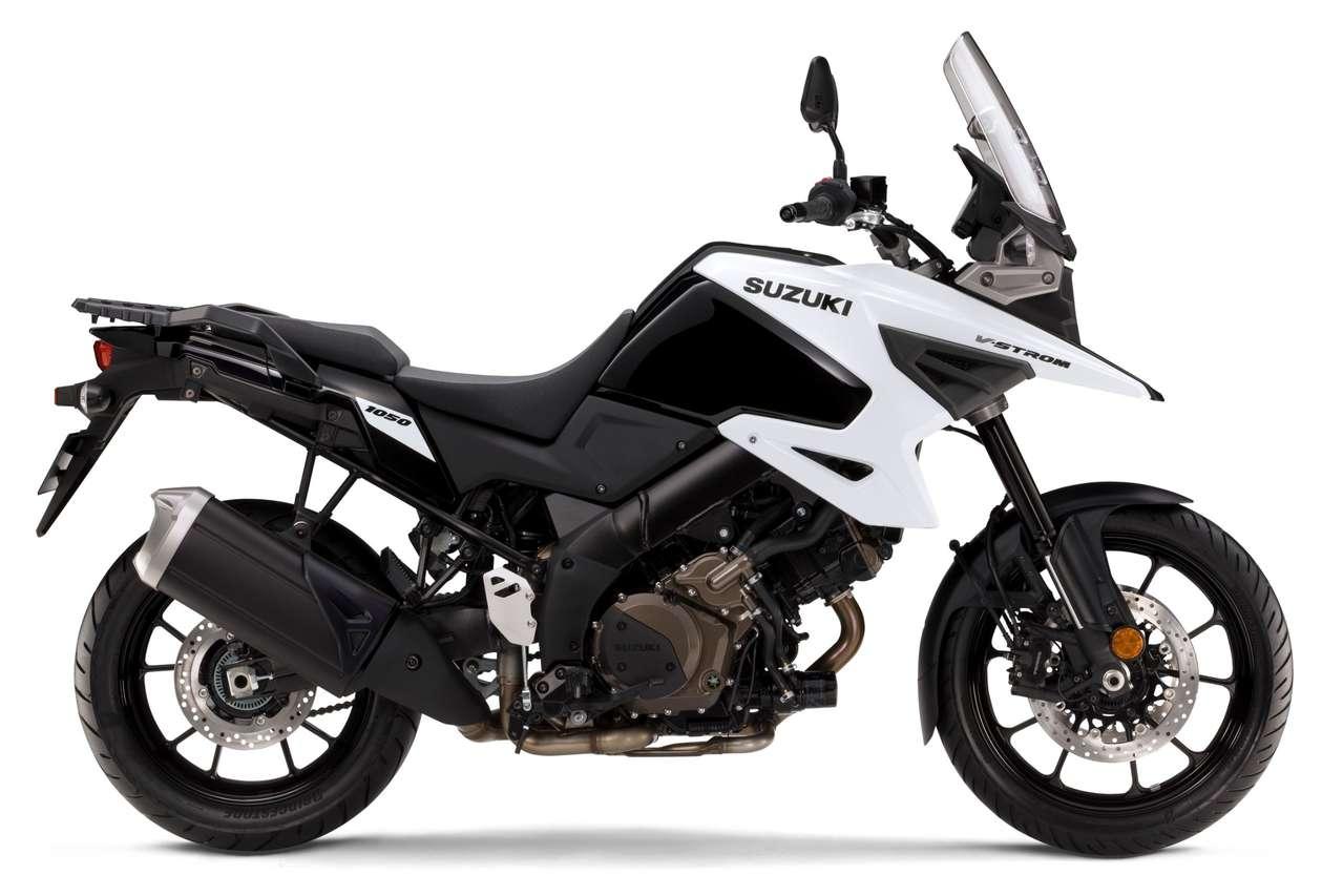 V-Strom 1050 2020 (Glass Sparkle Black / Pearl Brilliant White)