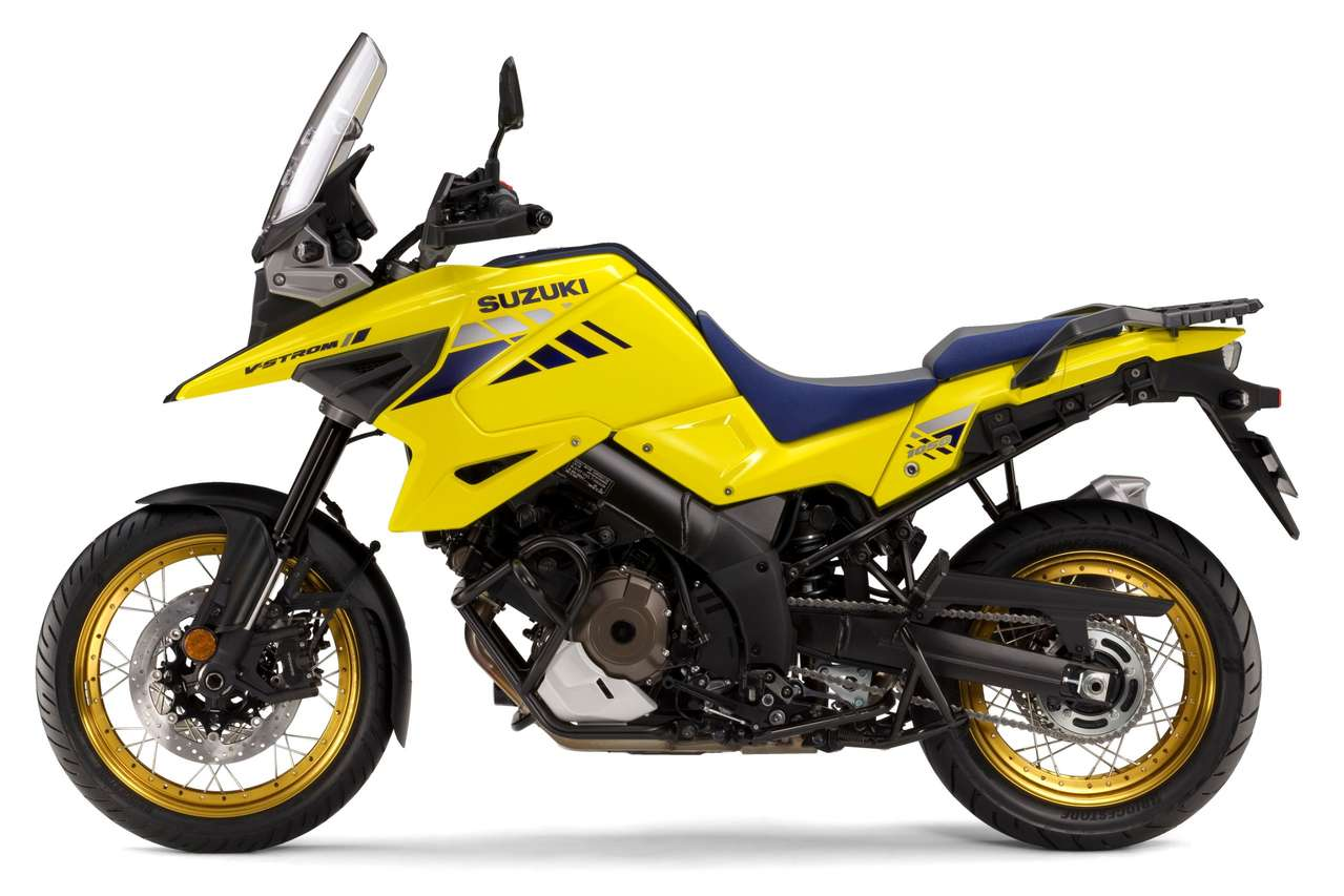 V-Strom 1050 XT in Champion Yellow No.2