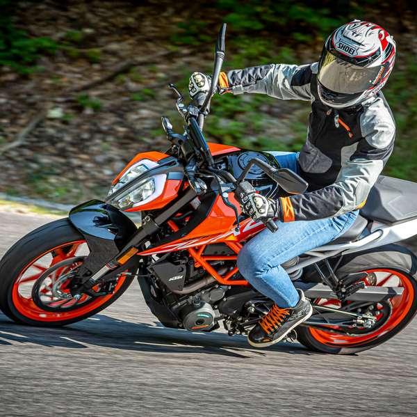 Platz 6: 372x KTM 390 Duke