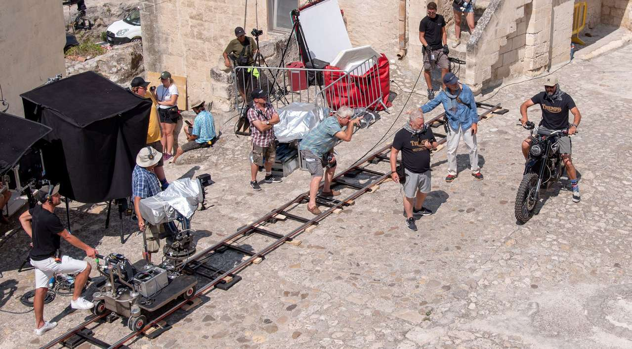 Aufbau einer Stunt-Szene im neuen Film