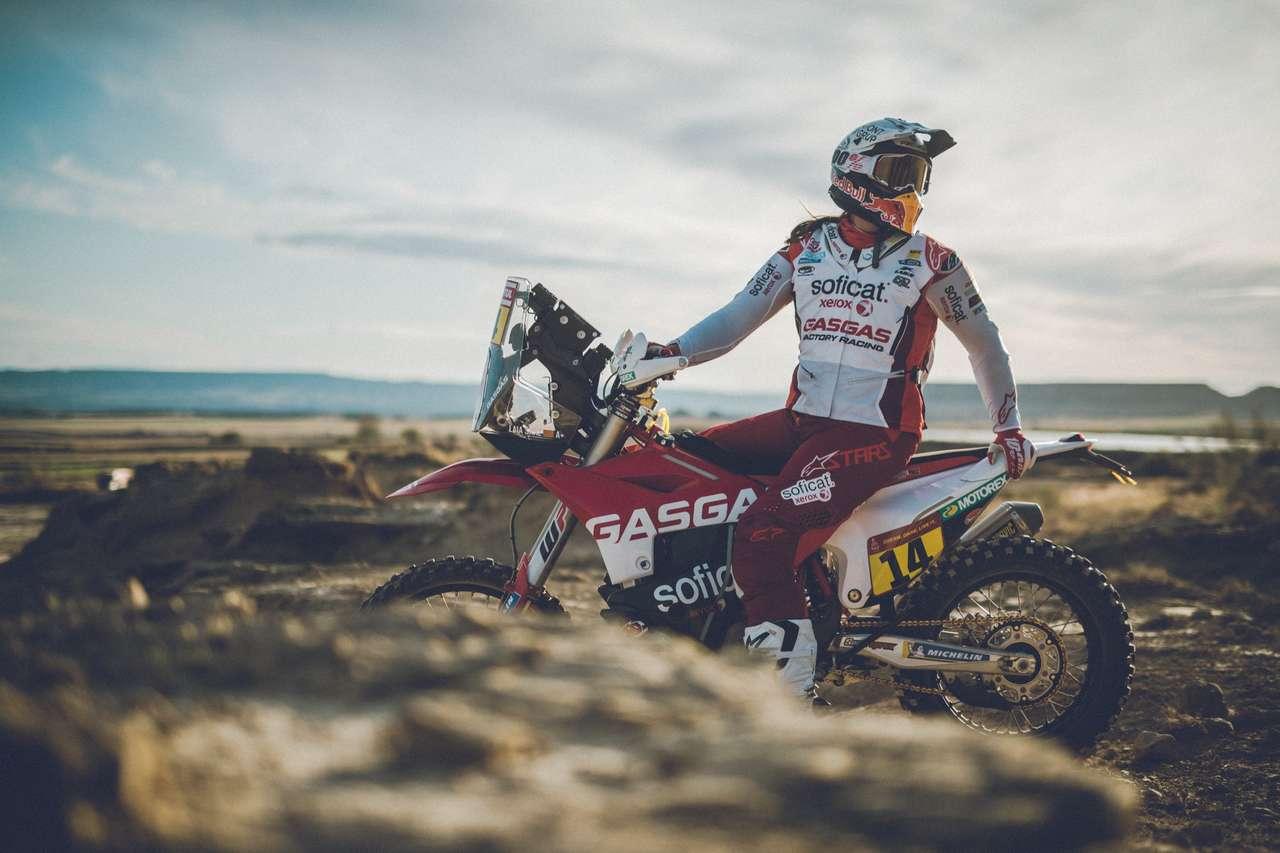 Dakar-Pilotin Laia Sanz zählt zur ersten Riege der neuen GasGas-Werksfahrer.
