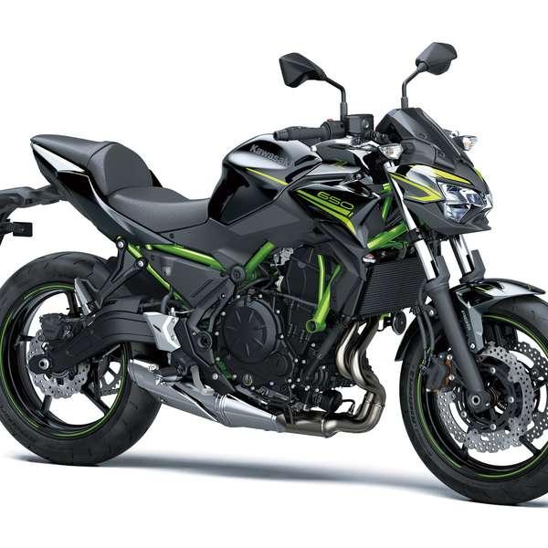 Z650 2020: Metallic Spark Black