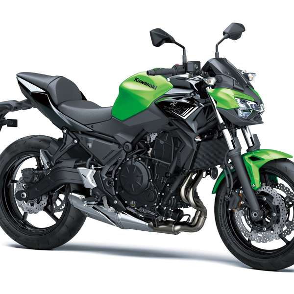 Z650 2020: Candy Lime Green/Metallic Spark Black
