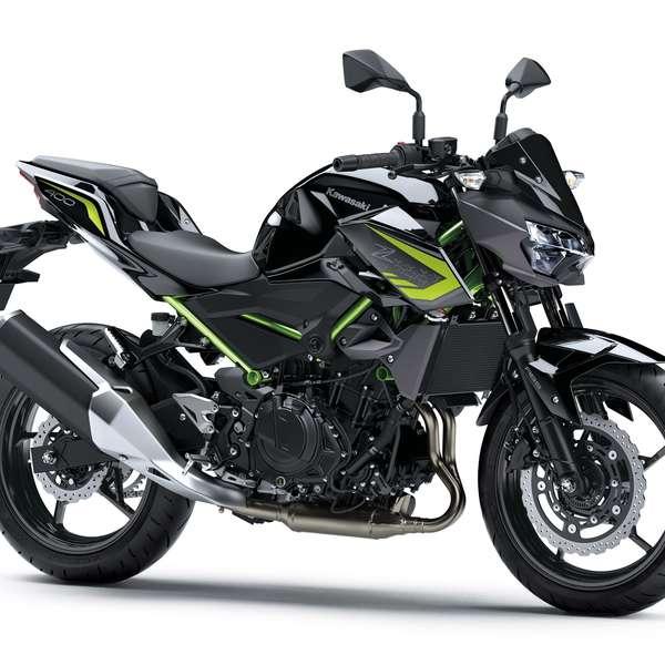 Z400 2020: Metallic Matte Graphite Gray/Metallic Spark Black