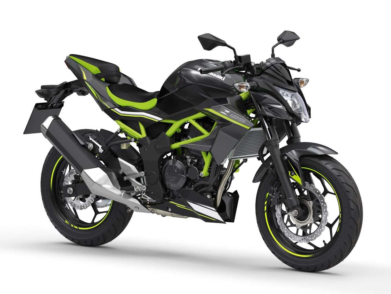 Z125: Metallic Flat Spark Black/Metallic Spark Black