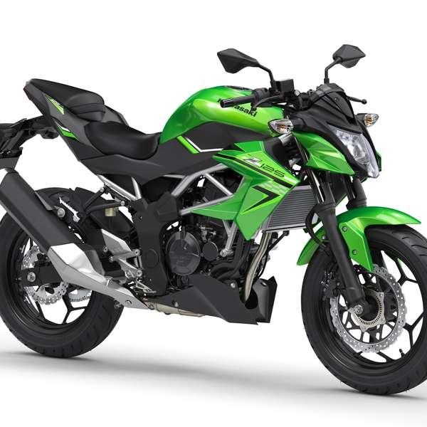 Z125: Candy Lime Green/Metallic Spark Black