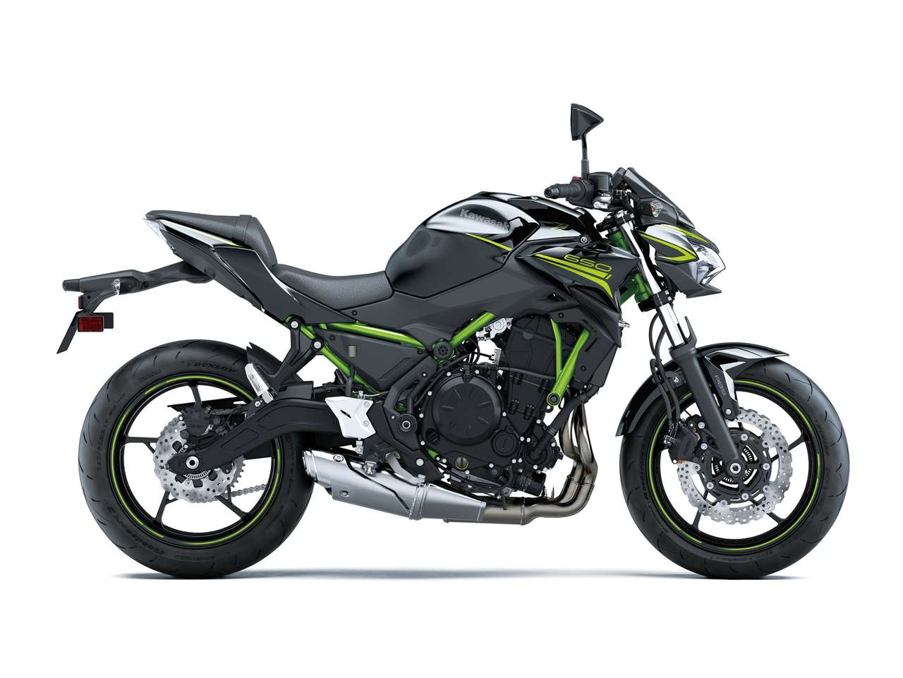 Z650 Metallic Spark Black