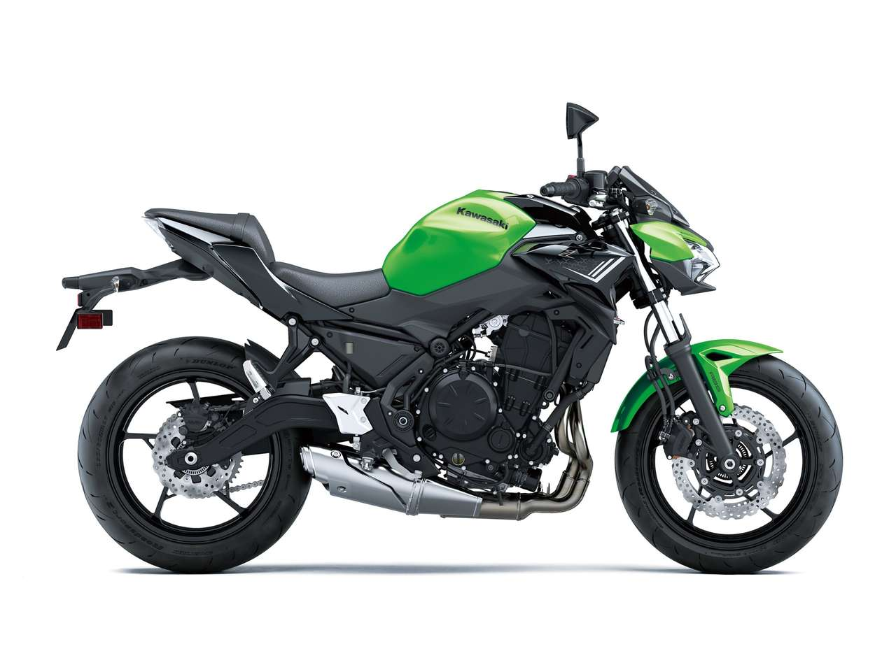 Z650 Candy Lime Green / Metallic Spark Black