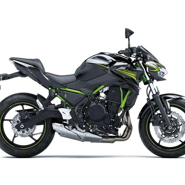 Z650 Metallic Spark Black