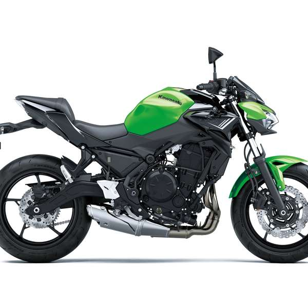 Z650 Candy Lime Green / Metallic Spark Black