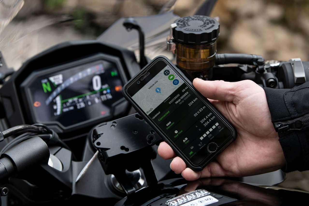 TFT mit Connectivity und App
