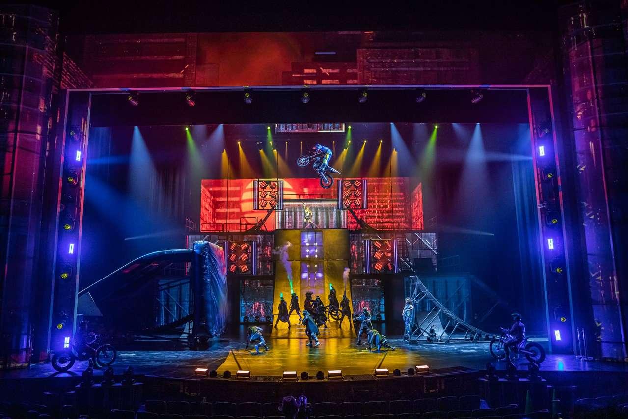 R.U.N. by Cirque du Soleil im Luxor-Casino, Las Vegas