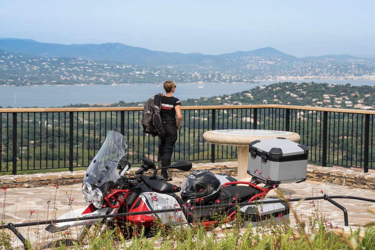 Blick von Gassin auf den Golf von Saint-Tropez